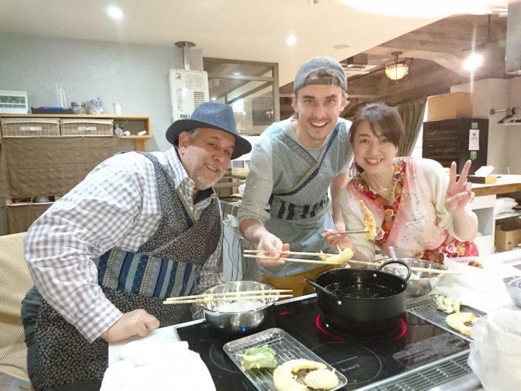 在大阪学习体验一天的制作日本料理课程是!