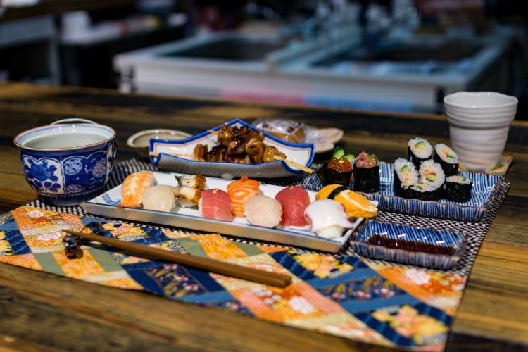 お寿司コースの写真