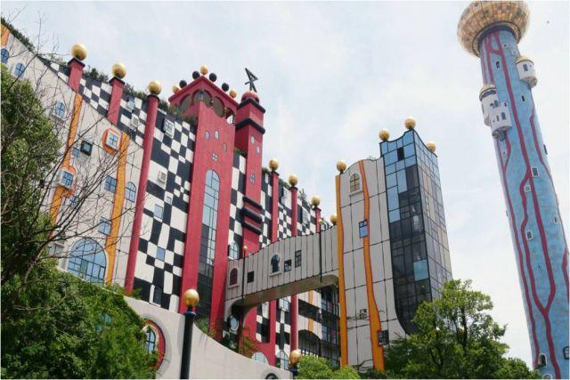 大阪市環境局 舞洲工場の外観