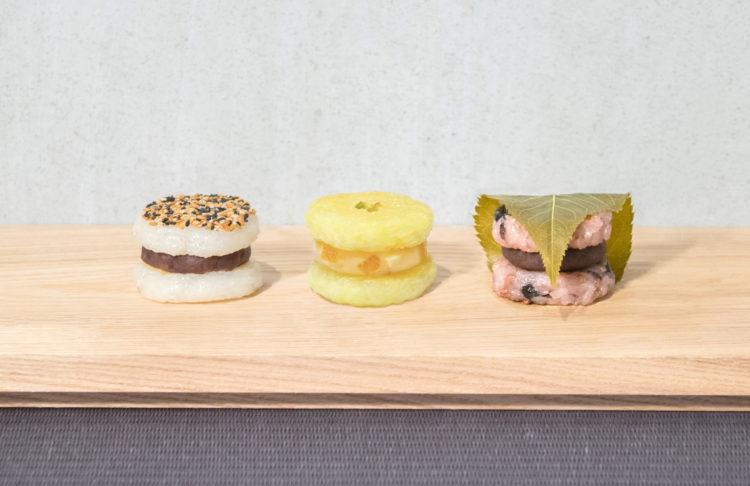 牡丹餅漢堡照片