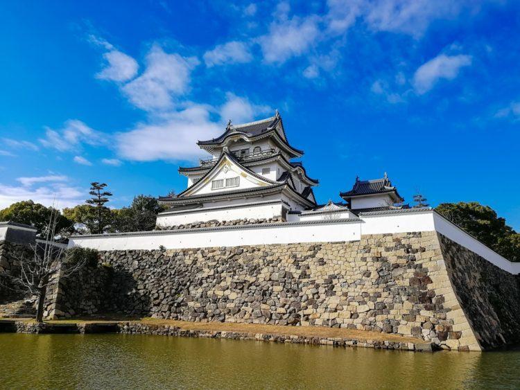 岸和田城の写真