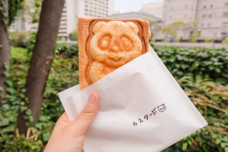 パンダ焼きの写真
