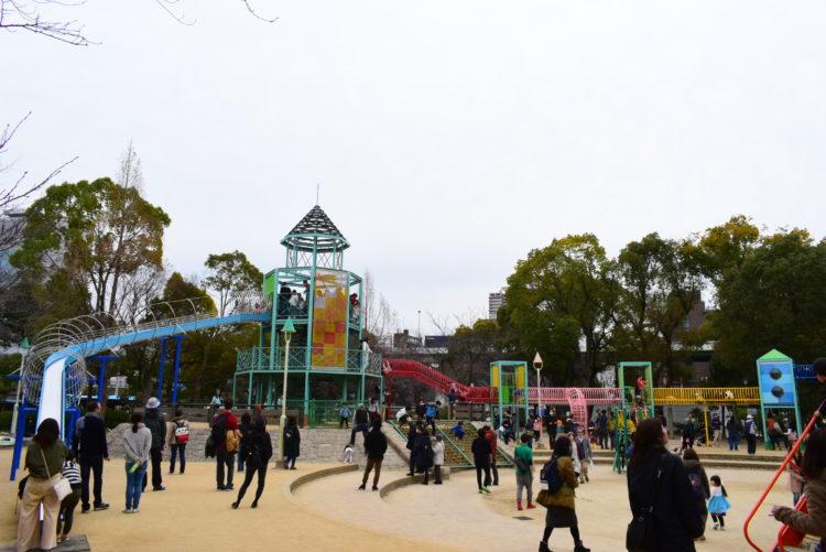 大阪城遊具広場の写真