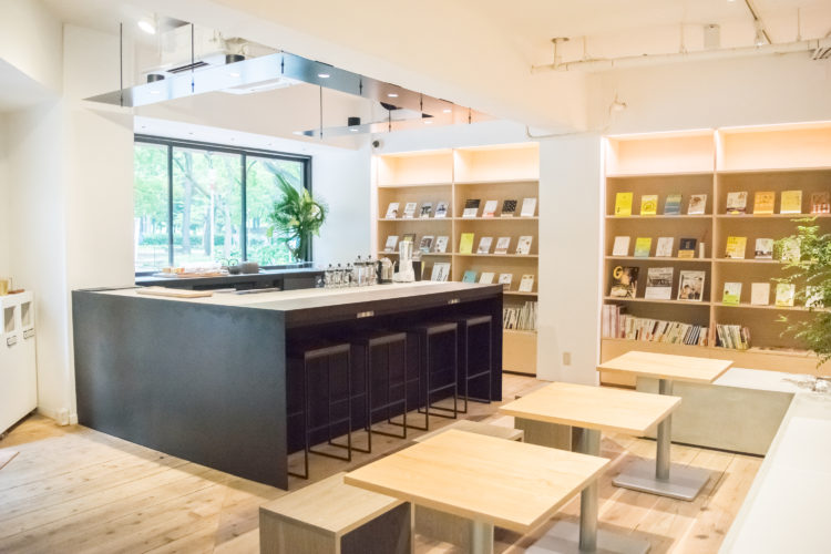 CHASHITSU Japanese Tea & Coffee店内写真①