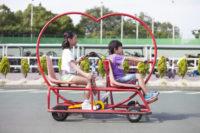 """【大阪でサイクリング♪】変わった形の自転車が80種類以上楽しめる""""関西サイクルスポーツセンター"""""""