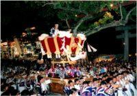 百舌鳥八幡宮の秋祭り